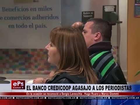 EL BANCO CREDICOOP AGASAJO A LOS PERIODISTAS