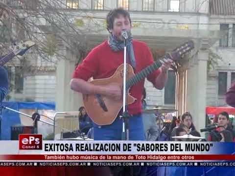 EXITOSA REALIZACION DE SABORES DEL MUNDO