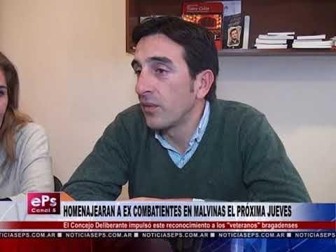HOMENAJEARAN A EX COMBATIENTES EN MALVINAS EL PRÓXIMA JUEVES
