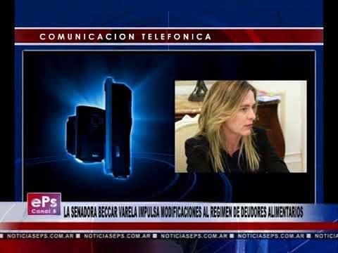LA SENADORA BECCAR VARELA IMPULSA MODIFICACIONES AL REGIMEN DE DEUDORES ALIMENTARIOS