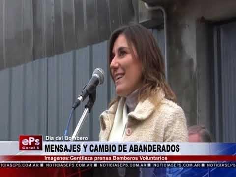 MENSAJES Y CAMBIO DE ABANDERADOS