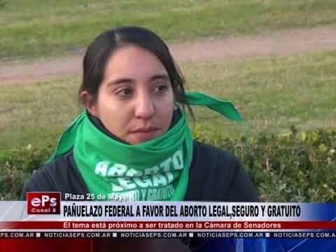 PAÑUELAZO FEDERAL A FAVOR DEL ABORTO LEGAL,SEGURO Y GRATUITO