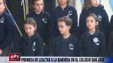 PROMESA DE LEALTAD A LA BANDERA EN EL COLEGIO SAN JOSE