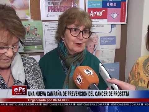 UNA NUEVA CAMPAÑA DE PREVENCION DEL CANCER DE PROSTATA