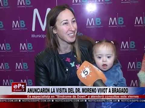 ANUNCIARON LA VISITA DEL DR MORENO VIVOT A BRAGADO