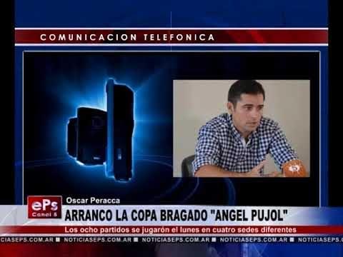 ARRANCO LA COPA BRAGADO ANGEL PUJOL