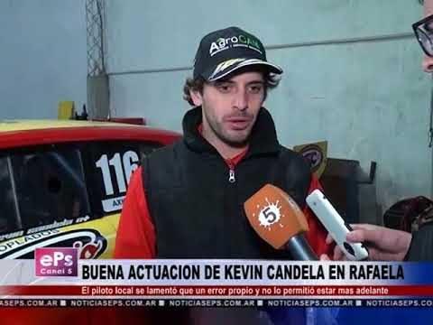 BUENA ACTUACION DE KEVIN CANDELA EN RAFAELA