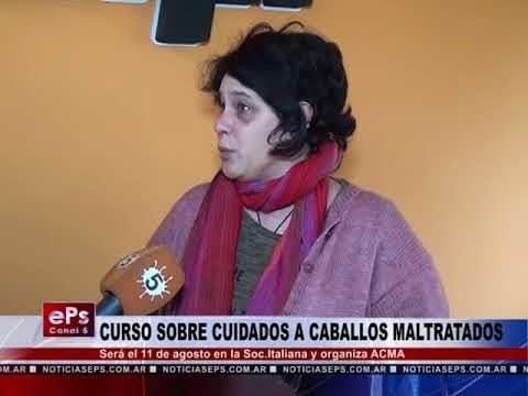 CURSO SOBRE CUIDADOS A CABALLOS MALTRATADOS