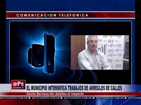 EL MUNICIPIO INTENSIFICA TRABAJOS DE ARREGLOS DE CALLES