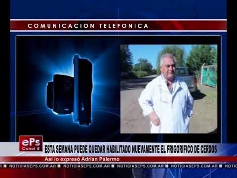 ESTA SEMANA PUEDE QUEDAR HABILITADO NUEVAMENTE EL FRIGORIFICO DE CERDOS