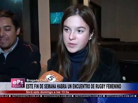 ESTE FIN DE SEMANA HABRA UN TORNEO DE RUGBY FEMENINO