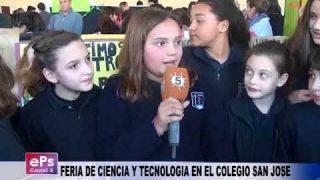 FERIA DE CIENCIA Y TECNOLOGIA EN EL COLEGIO SAN JOSE
