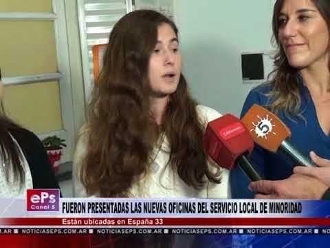 FUERON PRESENTADAS LAS NUEVAS OFICINAS DEL SERVICIO LOCAL DE MINORIDAD
