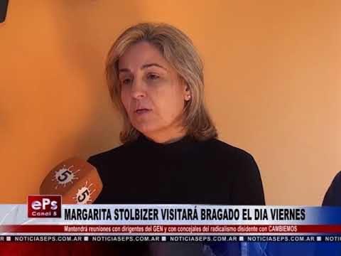 MARGARITA STOLBIZER VISITARÁ BRAGADO EL DIA VIERNES