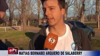 MATIAS BERNABEI ARQUERO DE SALABERRY