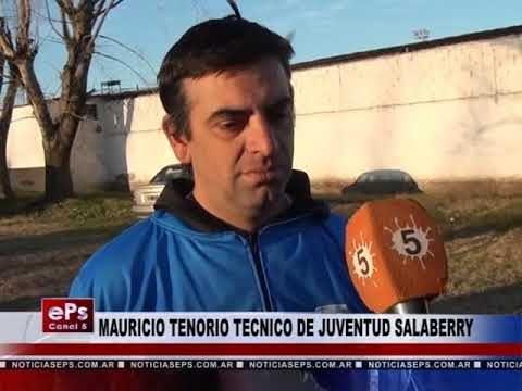 MAURICIO TENORIO TECNICO DE JUVENTUD SALABERRY