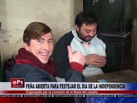 PEÑA ABIERTA PARA FESTEJAR EL DIA DE LA INDEPENDENCIA