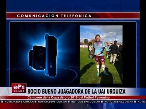 ROCIO BUENO JUAGADORA DE UAI URQUIZA