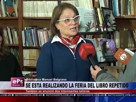 SE ESTA REALIZANDO LA FERIA DEL LIBRO REPETIDO