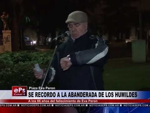 SE RECORDO A LA ABANDERADA DE LOS HUMILDES