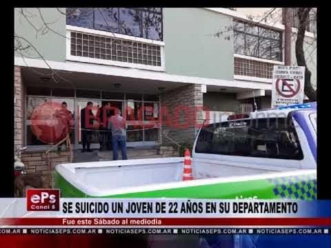 SE SUICIDO UN JOVEN DE 22 AÑOS EN SU DEPARTAMENTO