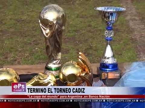 TERMINO EL TORNEO CADIZ