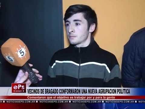 VECINOS DE BRAGADO CONFORMARON UNA NUEVA AGRUPACION POLITICA