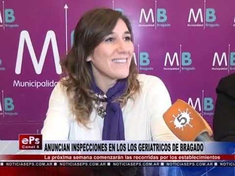 ANUNCIAN INSPECCIONES EN LOS LOS GERIATRICOS DE BRAGADO