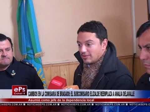CAMBIOS EN LA COMISARIA DE BRAGADO EL SUBCOMISARIO ELIZALDE REEMPLAZA A ANALIA DELAVALLE