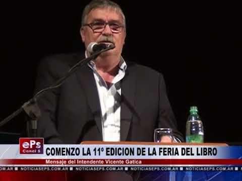 COMENZO LA 11º EDICION DE LA FERIA DEL LIBRO