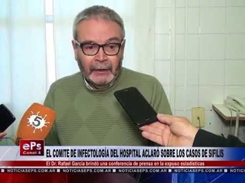 EL COMITE DE INFECTOLOGÍA DEL HOSPITAL ACLARÓ SOBRE LOS CASOS DE SIFILIS