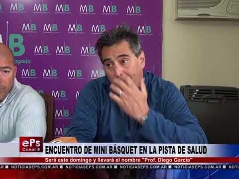 ENCUENTRO DE MINI BÁSQUET EN LA PISTA DE SALUD