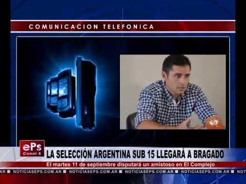 LA SELECCIÓN ARGENTINA SUB 15 LLEGARÁ A BRAGADO