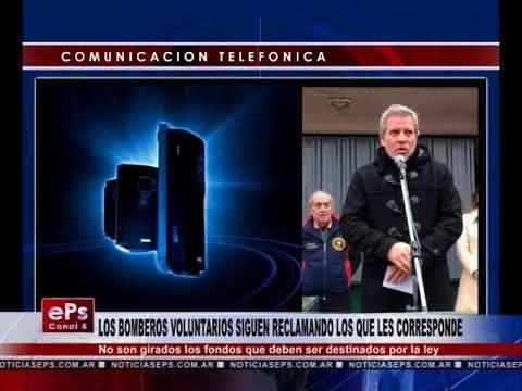 LOS BOMBEROS VOLUNTARIOS SIGUEN RECLAMANDO LOS QUE LES CORRESPONDE