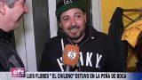 LUIS FLORES EL CHILENO ESTUVO EN LA PEÑA DE BOCA