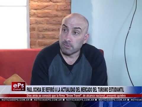 PAUL OCHOA SE REFIRIÓ A LA ACTUALIDAD DEL MERCADO DEL TURISMO ESTUDIANTIL