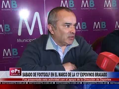 SABADO DE FOOTGOLF EN EL MARCO DE LA 13º EXPOVINOS BRAGADO