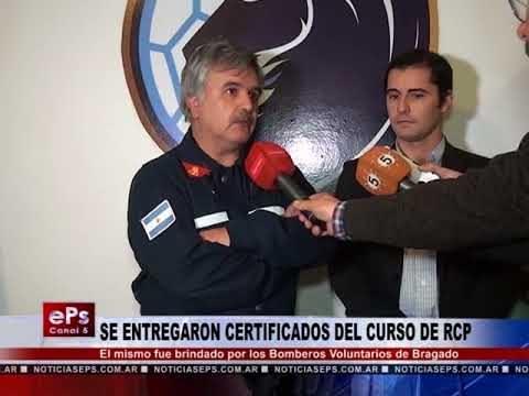 SE ENTREGARON CERTIFICADOS DEL CURSO DE RCP