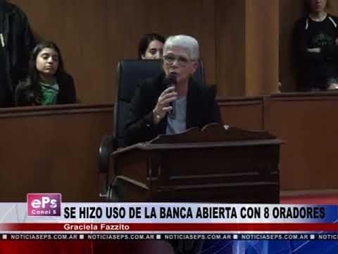 SE HIZO USO DE LA BANCA ABIERTA HCD