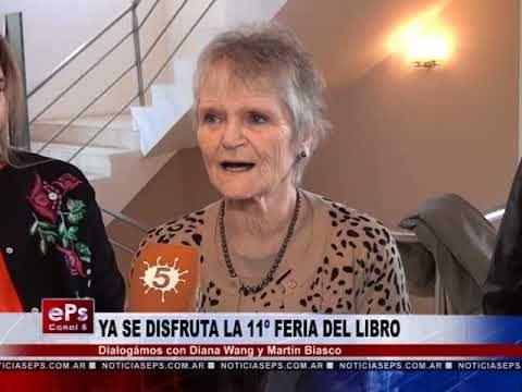 YA SE DISFRUTA LA 11º FERIA DEL LIBRO
