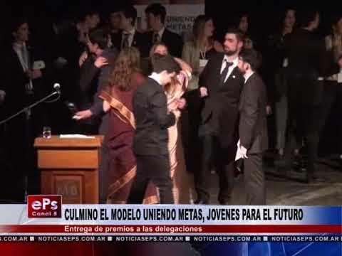 CULMINO EL MODELO UNIENDO METAS, JOVENES PARA EL FUTURO