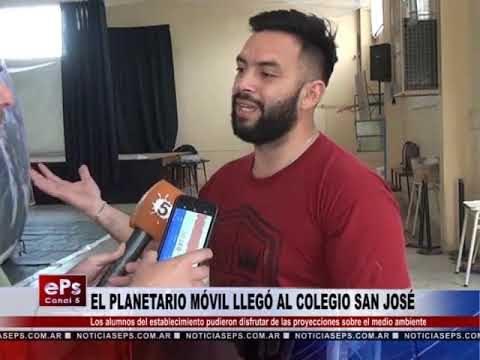 EL PLANETARIO MÓVIL LLEGÓ AL COLEGIO SAN JOSÉ