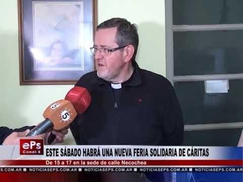 ESTE SÁBADO HABRÁ UNA NUEVA FERIA SOLIDARIA DE CÁRITAS