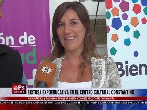 EXITOSA EXPOEDUCATIVA EN EL CENTRO CULTURAL CONSTANTINO