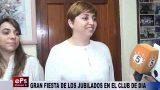 GRAN FIESTA DE LOS JUBILADOS EN EL CLUB DE DÍA