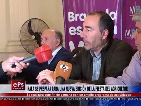 IRALA SE PREPARA PARA UNA NUEVA EDICIÓN DE LA FIESTA DEL AGRICULTOR