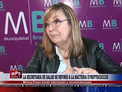 LA SECRETARIA DE SALUD SE REFIRIÓ A LA BACTERIA STREPTOCOCCUS