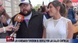 LOS EGRESADOS TUVIERON SU DESFILE POR LAS CALLES CENTRICAS