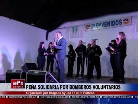 PEÑA SOLIDARIA POR BOMBEROS VOLUNTARIOS
