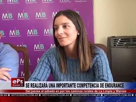 SE REALIZARÁ UNA IMPORTANTE COMPETENCIA DE ENDURANCE
